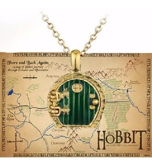 Colar Cordão Hobbit Frodo Porta O Senhor Dos Anéis