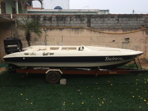 Barco / Boat / Mercury 100hp 2 Tempos