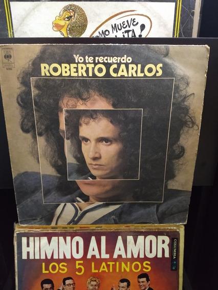 Disco De Vinilo, Roberto Carlos,yo Te Recuerdo