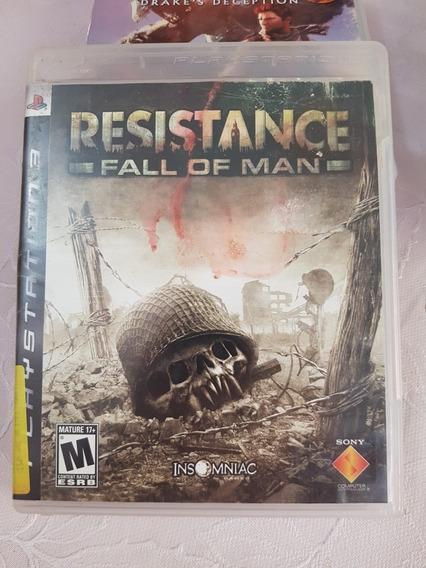 Jogo Resistance Fall Of A Man Playstation 3 Ps3 Original