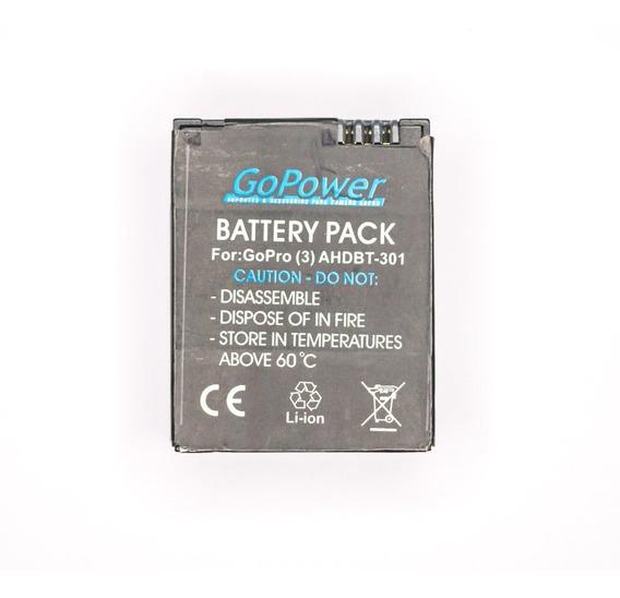 Bateria Gopower Para Gopro Hero 3 Ou Hero 3+ Semi-nova