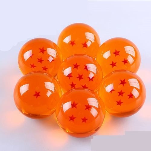 Esferas Del Dragon Dragon Ball Z 4.5 Cm Set Ac