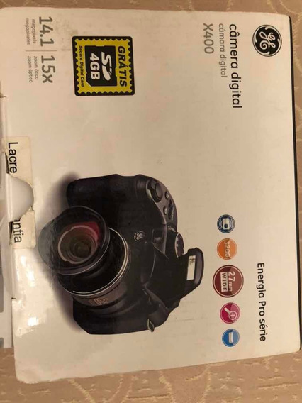 Câmera Fotográfica Digital Ge X400 Semi Profissional