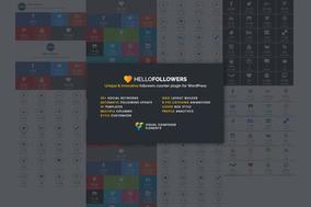 Plugin Contador De Seguidores Exclusivo E Inovador - Wp