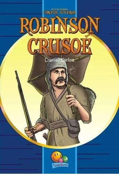 Livro Robinson Crusoé - Contos Juvenis