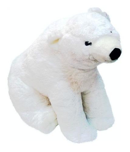 Imagen 1 de 1 de Peluche Oso Polar Justino 85cm Wf557 Funny Land