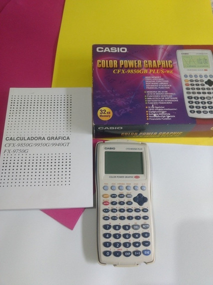 Calculadora Gráfica Casio Color Power Graphic Cfx 9859 Gb