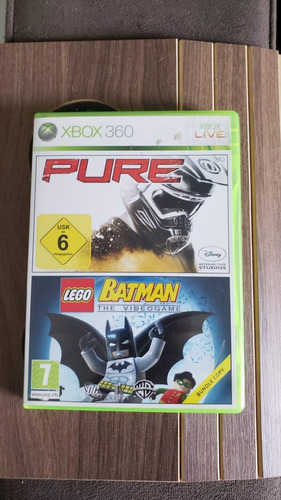 Lego Batman E Pure Xbox 360 Midia Fisica Original