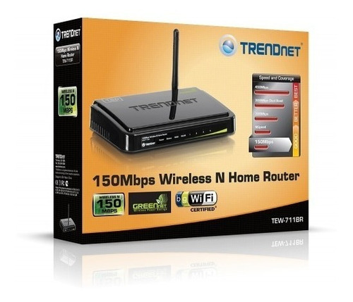 Router Wifi Trendnet Tew-711br Wireless Inalambrico 711