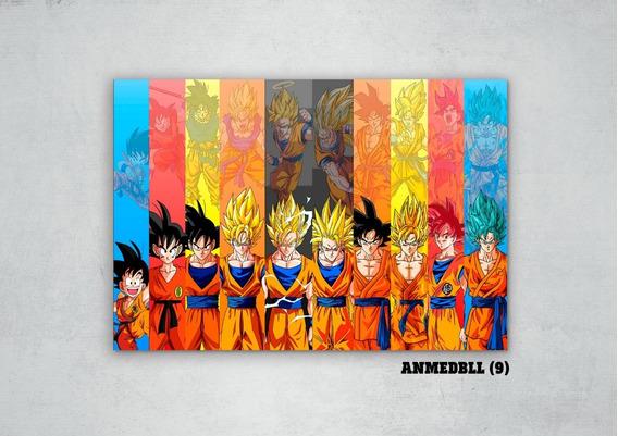 Cuadros Anime Dragon Ball Xl 33x48 (dbll (9))