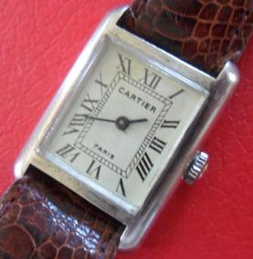 Relogio Antigo Cartier Paris Em Prata De Lei 925 - V E J A !