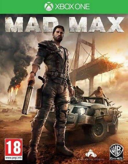 Mas Max Xbox One Lacrado
