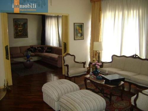 Imagem 1 de 15 de Oportunidade Pacaembu De Casa Em Rua Sem Saída. - Pc80415