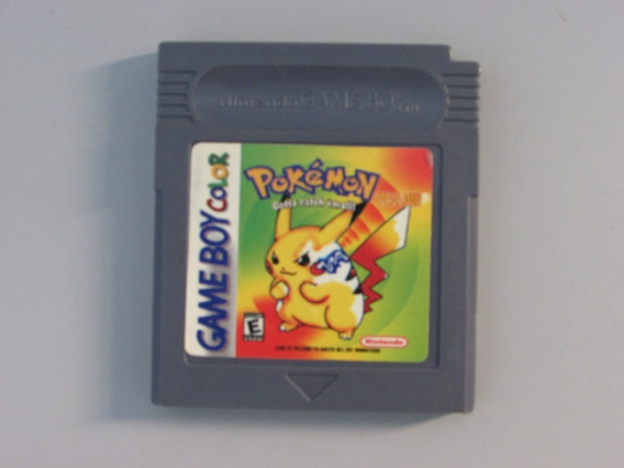 Pokemon Yellow Game Paralelo Saboy Color