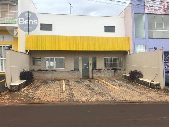 Barracão Para Alugar, 195 M² Por R$ 3.500,00/mês - Jardim Vista Alegre - Paulínia/sp - Ba0010