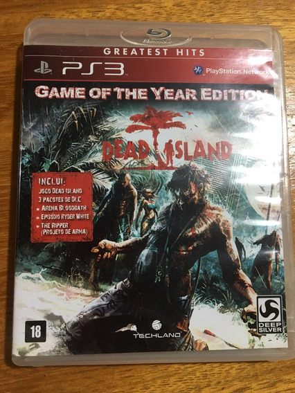 Dead Island - Ps3 - Mídia Fisica - Game Of The Year Edition