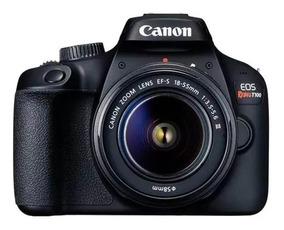 Câmera Canon Digital Prof Rebel T100 18-55
