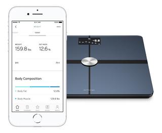 Balança Withings Body+ Smart Body Composition Wi-fi Lacrada