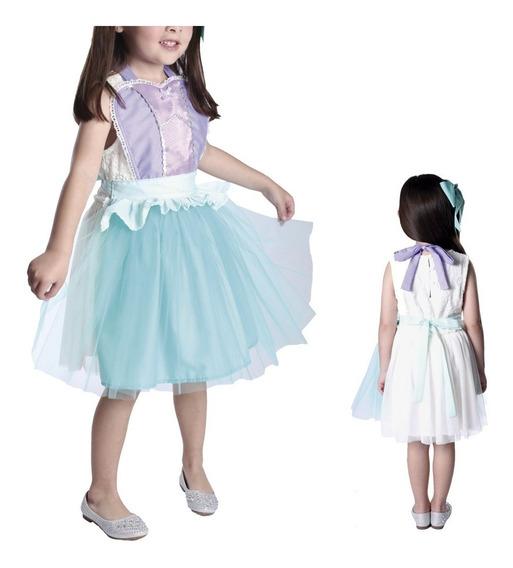 Disfraz Disney Princesa Ariel La Sirenita Vestido Delantal