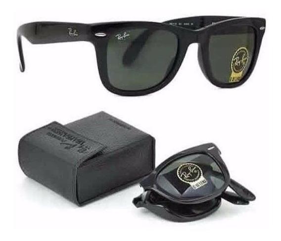 Óculos De Sol Rayban Dobrável Masculino