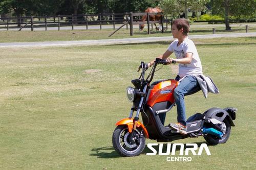 Moto Electrica Sunra Miku Litio 136.000 + 18 De 7.669 / A