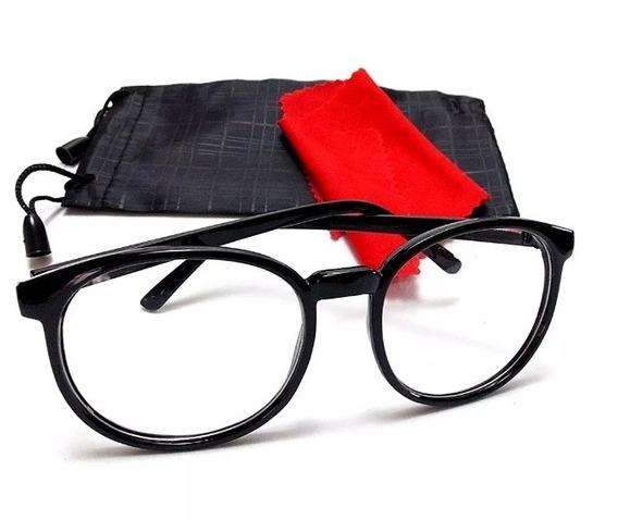 Oculos De Grau Feminino Armação Em Acetato Geek Vintage