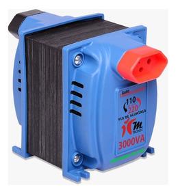 Auto Transformador Voltagem Ipec 3000va 110-220v
