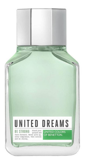 United Dreams Be Strong Benetton Edt - Perfume 200ml