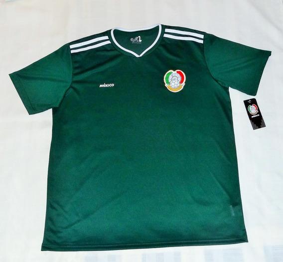 Playera Futbol Mexico Hombre Athletics