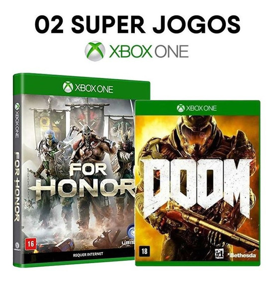 For Honor + Doom - Xbox One - Mídias Físicas