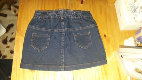 Lote De Verano 3 Short De Jean Y Pollera De Jean