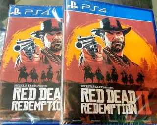 Juego Red Dead Redemption 2 Ps4 Fisico Playstation