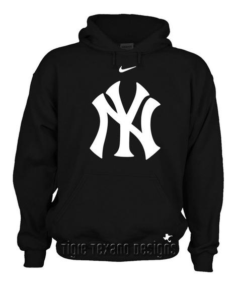 Sudadera Yankees Nueva York Mod. P By Tigre Texano Designs