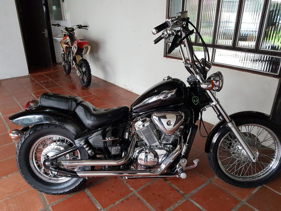 Honda Shadow 600 Vlx 600cc Preta.