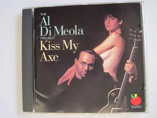 Al Di Meola Kiss My Axe Cd Original Jazz 1991 Rhino Records