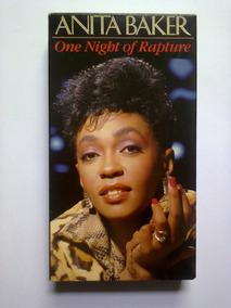 Fita Vhs Anita Baker - One Night Of Rapture (1987) Importada