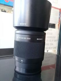 Lente Sony Dt 55-200mm F/4.0-5.6 Sam Alpha A-monte Telefoto
