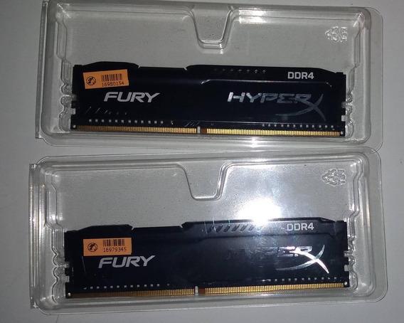 Memória Kingston Hyperx Fury 2400 Mhz 8gb (2x4gb)