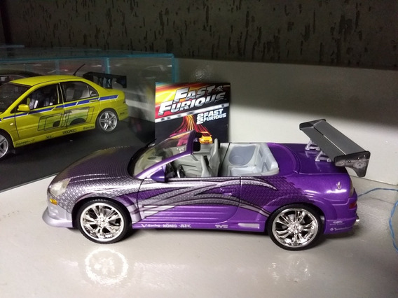 Ertl Mitsubishi Eclipse Spyder Velozes E Furiosos 1:18 Néon