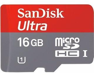 Cartão Micro Sd Ultra Classe 10 16gb (14,00 Frete Carta)