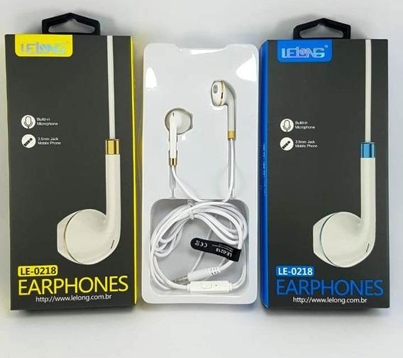 06 - Fone De Ouvido Com Microfone Lelong 0218 - 72