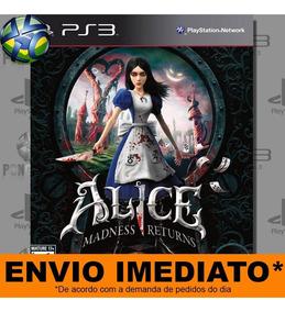 Jogo Alice Madness Returns - Promoção Pronta Entrega | Ps3