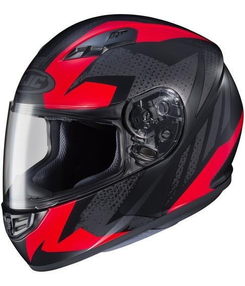 Casco Hjc Cl-y Boost Negro Rojo Integral Chicos Devotobikes
