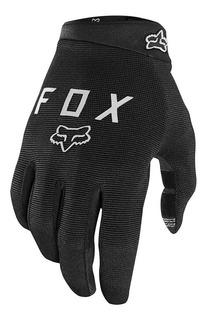 Luva Dedo Longo Preta Ranger Fox