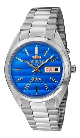 Relógio Orient Masculino Automático 469wa3 A1sx Azul Oferta