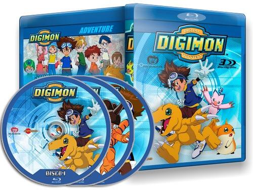 Digimon Adventure 01 E 02 Completo Em Blu-ray - Dublado
