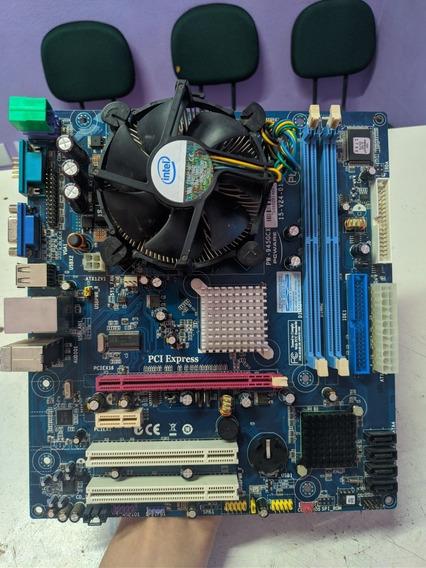 Kit Placa Pw 945gcx - Pentium Dual Core - Cooler - 4gb Ddr2