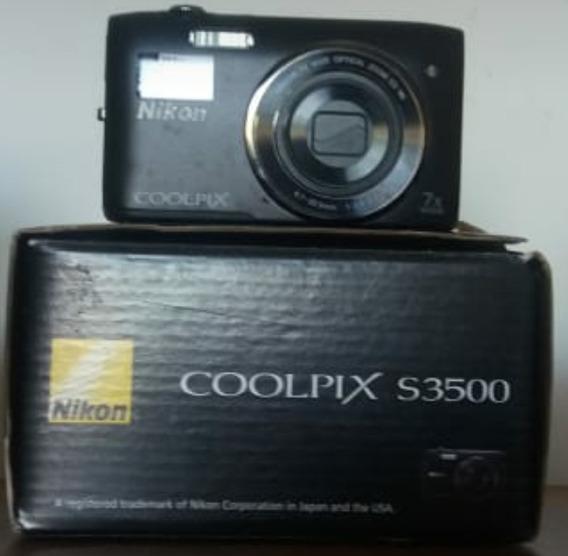 Câmera Nikon Coolpix S 3500