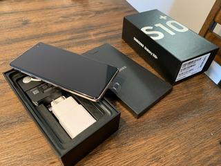 Nuevo Open Box Samsung Galaxy S10 + 512gb Desbloqueado