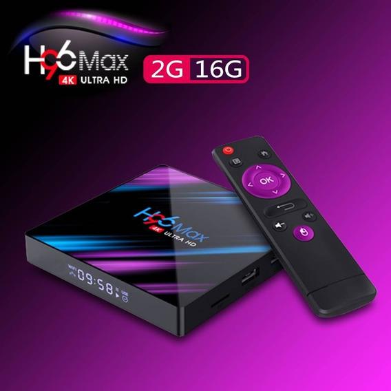 H96 Max-3318 Quad-core 1080p Tv Box Media Player2g+16g Ue Pl